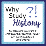 Why Study History? Fun and Challenging Activities