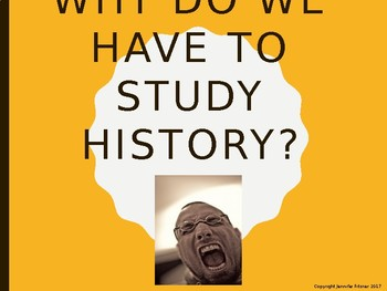 Why Study History Powerpoint