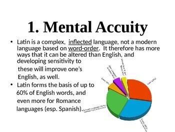 Why Study Latin?