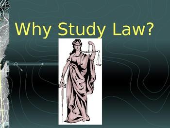Why Study Law