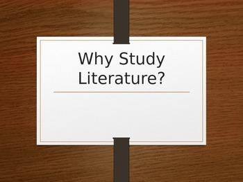 Why Study Literature?