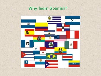 Why Study Spanish PowerPoint