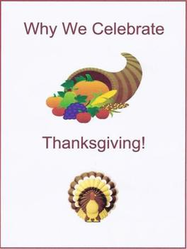 Why We Celebrate Thanksgiving!