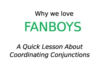 Why We Love FANBOYS