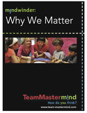 Why We Matter~An exploration of how our actions affect others