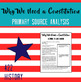 Why We Need a Constitution Primary Source Guided Reading