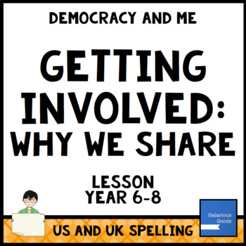Why We Share (Getting Involved Lesson Three)