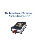 Study of Scripture Lesson Plans, Discussion Q&A and Studen