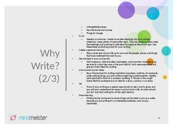 Why Write Presentation