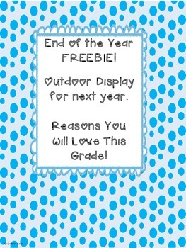 Why You Will Love This Grade FREEBIE
