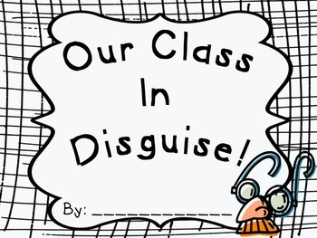 Why a Disguise? Opinion Writing Freebie