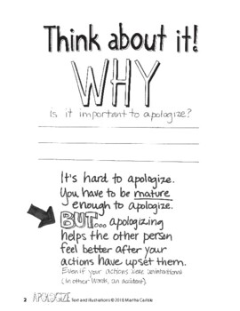 Why and How to Apologize