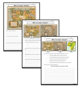 Why (and how) Do Maps Change?  Students examine early maps of Africa!
