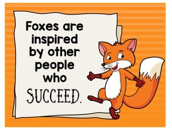 Why are foxes so clever? Growth Mindset Bulletin Board Set