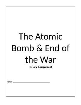 Why did Truman Drop the Atomic Bomb?