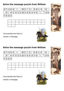 Why did William defeat Harold II - Card Sort Activity