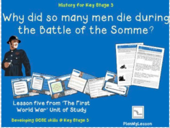Why did so many men die at the Battle of the Somme?