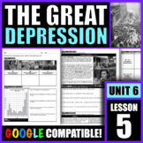 Why did the Great Depression begin in 1929? How did it aff