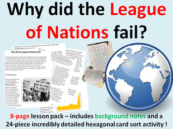 Why did the League of Nations fail? 11-page lesson pack