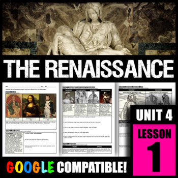 Why did the Renaissance begin? How was it different from the Middle Ages?