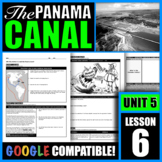 Why did the U.S. build the Panama Canal?
