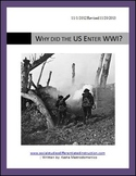 Why did the US Enter WWI? Lesson Plan