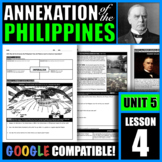 Why did the US annex the Philippines? How did Filipinos re