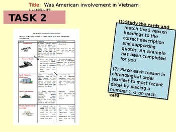 Why did the US invade Vietnam?