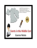 IGCSE - Why do events in the Gulf matter? Entire Course Notes - 34 pages