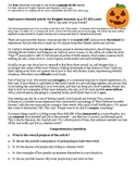 Why do we enjoy fear? Halloween Activity for C1-C2 English