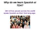 Why do we learn Spanish? / Promoting Spanish / Reasons for learning Spanish