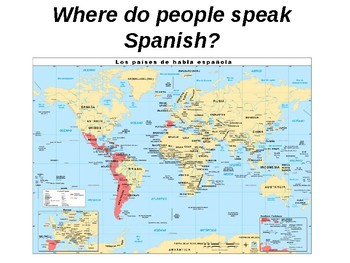 Why do we learn Spanish? / Promoting Spanish / Reasons for