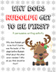 Why does Rudolph go first? - Persuasive Essay
