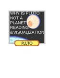 Why is Pluto NOT a Planet? -nonfiction reading and visualizing activity EDITABLE