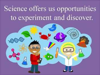 Why is Science Important? Anchor Charts or Slideshow
