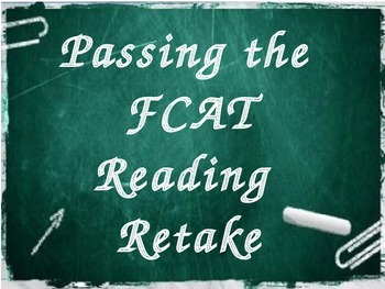 Why is my child in FCAT Reading?