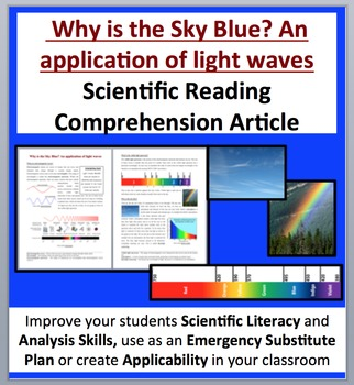 Why is the Sky Blue? An application of light waves - Science Reading Article