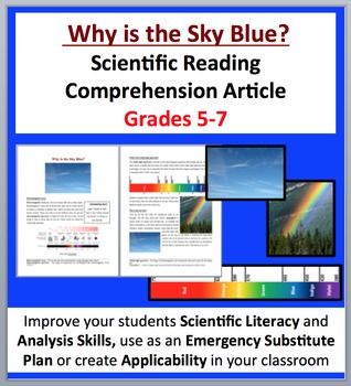 Why is the Sky Blue? - Science Reading Article - Grades 5-7