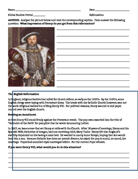 Why is the life of Henry VIII ironic?