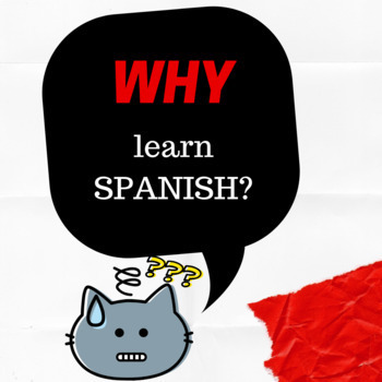 Why learn Spanish Activity for first day of school
