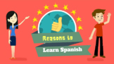 Why learn Spanish Flashcards/Posters