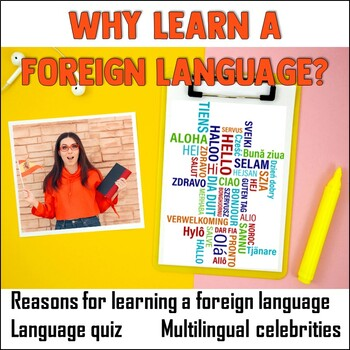 Why learn a foreign language?