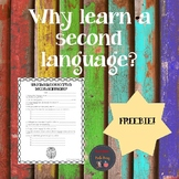 Why learn a second language? Video guide (Freebie)