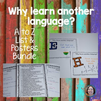 Why learn another language A to Z Bundle