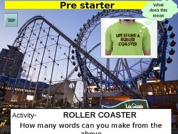 Why life can be like a roller-coaster