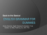 Why study grammar? Powerpoint, Guided Notes and Assignments