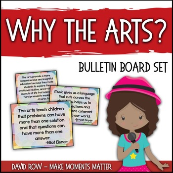 Why The Arts Arts Education Advocacy Poster Set And Music Advocacy
