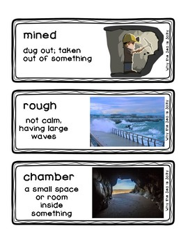Why the Sea is Salty Readygen Grade 4 Vocabulary