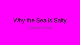 Why the Sea is Salty Vocabulary Cards