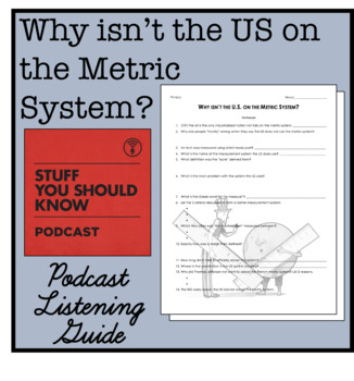 """Why the U.S. Isn't on the Metric System?"" Podcast Listening Guide"